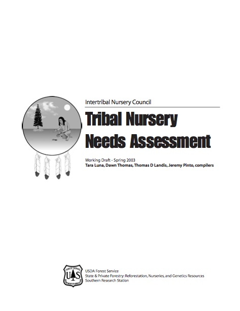 Tribal Nursery Needs Assessment Cover Image